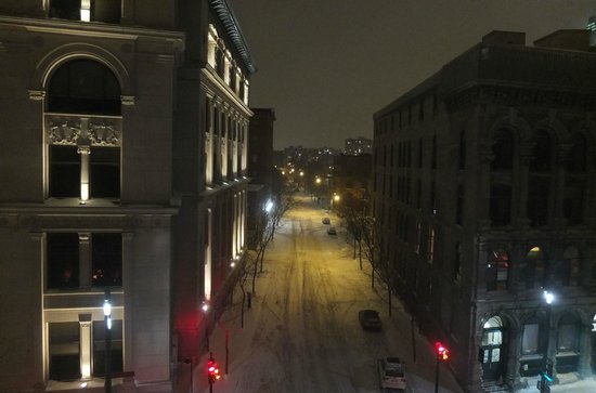 Hotel St Paul: Vue depuis la chambre