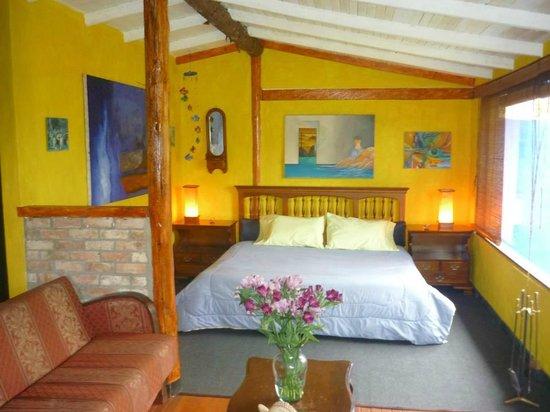 La Calera, Colombia: Chalet Bluebird habitacion