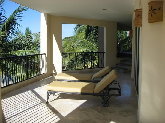 Villa del Palmar Flamingos Beach Resort & Spa Riviera Nayarit: suite balcony