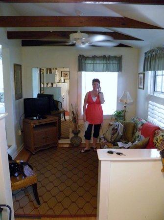 Jasmine House: livingroom area