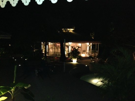 El Otro Lado: View of the Gazebo at Night