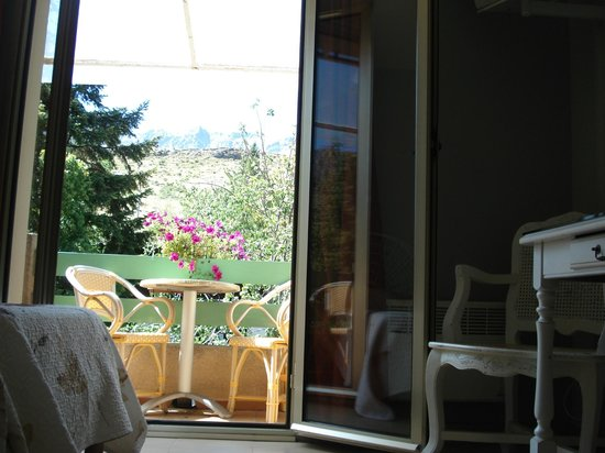 L'Acqua Viva Hotel: balcon chambre