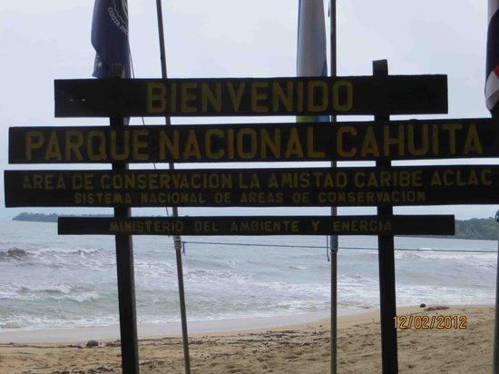 La Casa de las Flores Hotel: Parque Nacional Cahuita