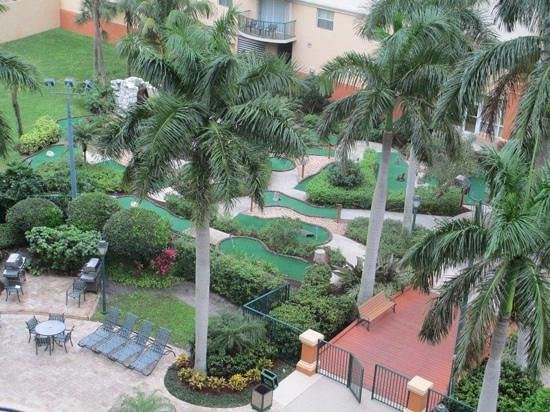 Wyndham Palm-Aire: mini golf