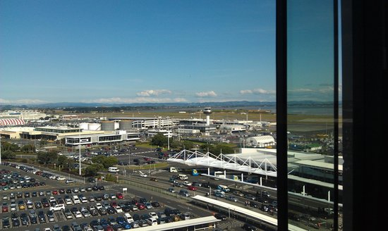 Novotel Auckland Airport: View from our room 9th floor
