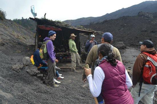 Pacaya Volcano : Lava Store, volcán Pacaya, Guatemala