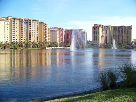 Wyndham Bonnet Creek Resort: One section of the development