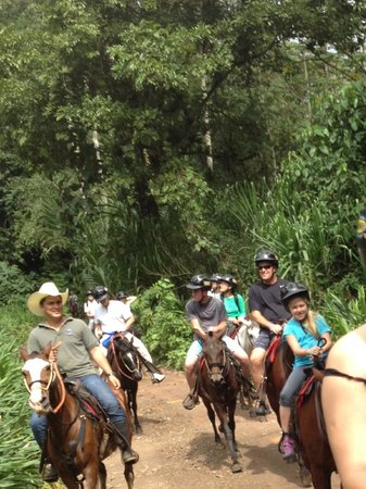 The Springs Resort and Spa: horseback ride, beautiful trails