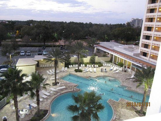 Holiday Inn Orlando – Disney Springs Area: View from our room