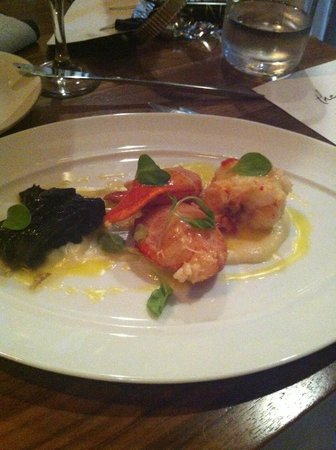 The Grove : Poached Lobster