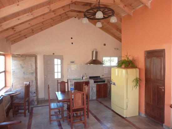 Hosteria Koonek: Cozinha do Hostel