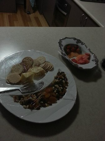Baudins of Busselton: one of our night time treats supplied by our generous hosts