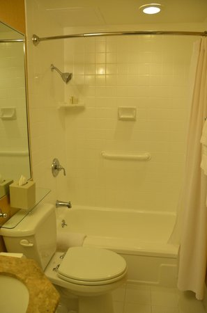 The Inn at Union Square - A Greystone Hotel: Toilet & Shower