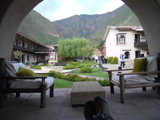 Sonesta Posadas del Inca Yucay: Vista desde el bar