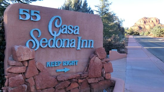 Casa Sedona Inn: Sign