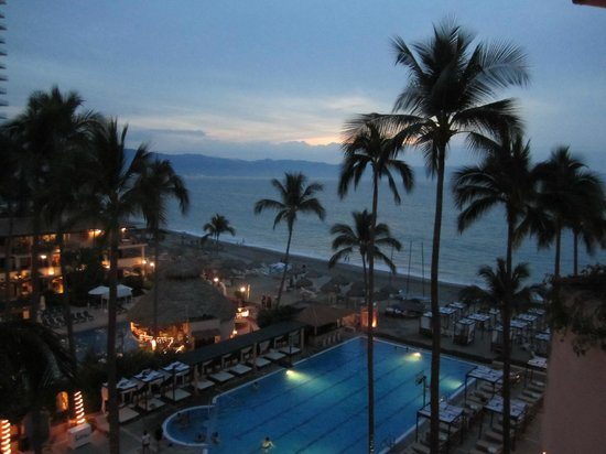 Crown Paradise Golden Resort Puerto Vallarta: View from our room