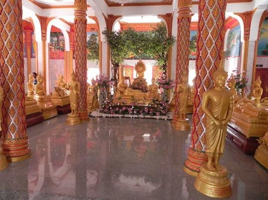 Inside Temple Wat Chalong