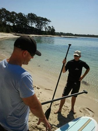 Jervis Bay Kayak & Paddlesports Co: Stand Up Paddleboard Courses Tuition and Sales