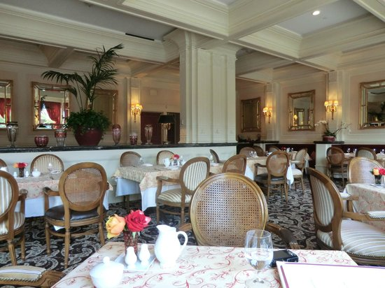 The Capital Hotel: Ashley's restaurant
