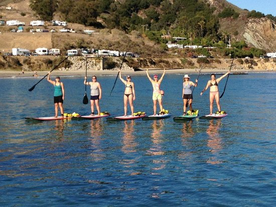 Avila Beach Paddlesports: Everyone Loves Paddleboarding!