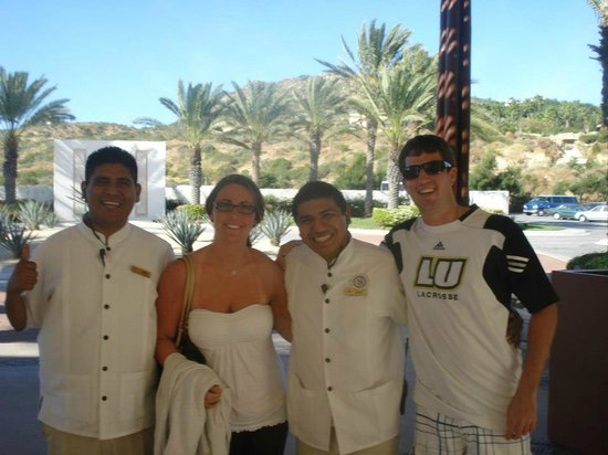 Pueblo Bonito Pacifica Resort & Spa: Our Favourite Staff Members! Javier and friend :) !!!!