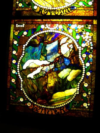 House on the Rock: One Stained Glass Panel