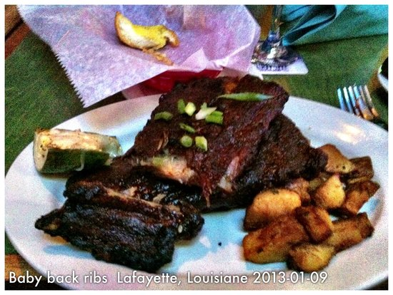 BON TEMPS GRILL : Take an appetizer each and 1 order of ribs for two