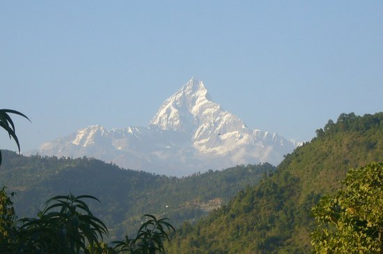 Rustika Guest House: Not a bad view to wake up to