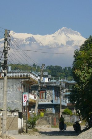 Rustika Guest House: Even a stroll back to the hotel from the German Bakery down the lane yeild views to dream of