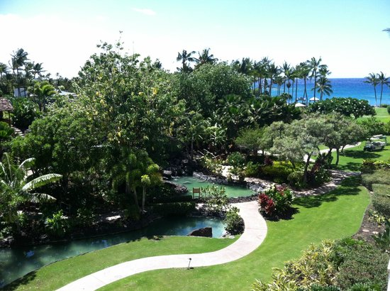 Fairmont Orchid, Hawaii: garden view