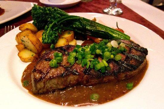 Louis Hebert : steak