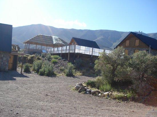 Complejo Turistico Los Molles: Pileta climatizada.