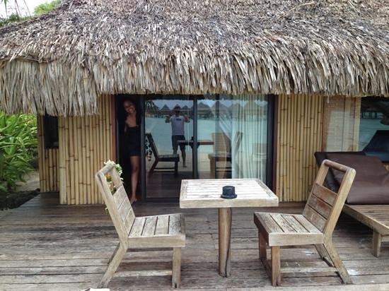 InterContinental Bora Bora Le Moana Resort: Nuestra casa en Bora Bora x 4 días :)