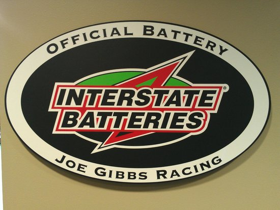 ‪‪Joe Gibbs Racing‬: Battery Sponsor