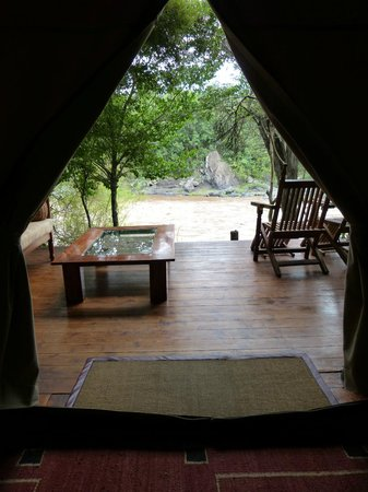 Sanctuary Olonana: Looking out from room
