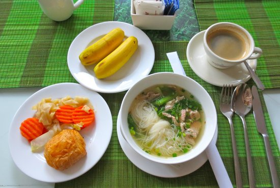 كنج جراند بوتيك هوتل: Loved the Khmer power breakfast.