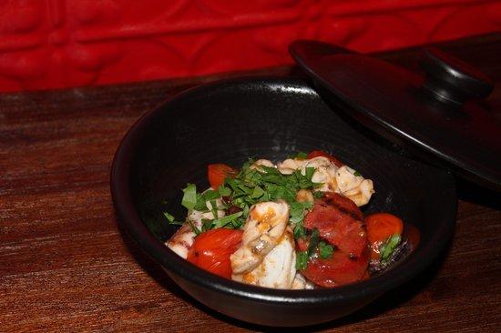 Pablo Pablo Latin Eatery: Cuttlefish and chorizo