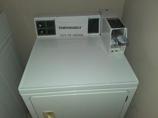 Sleep Inn & Suites: Laundry broke down too