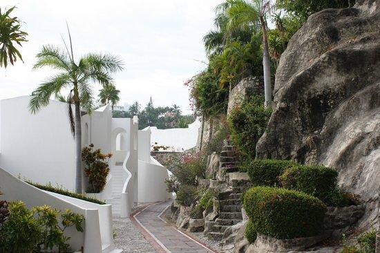 Las Hadas By Brisas: View from our front door