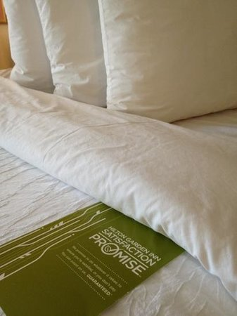 Hilton Garden Inn BWI Airport: comfy beds