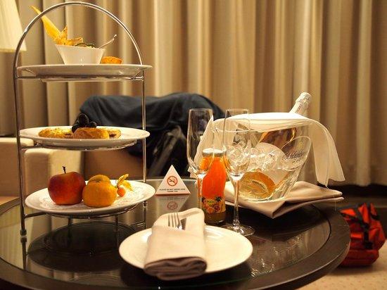 Austria Trend Hotel Savoyen Vienna: Welcome gift