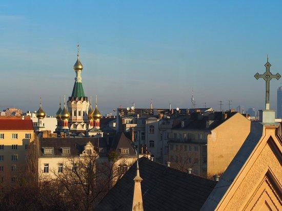 Austria Trend Hotel Savoyen Vienna: View from Exec lounge