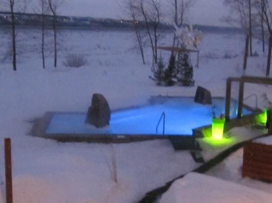 Sainte Anne de Beaupre, แคนาดา: bassin eau chaude
