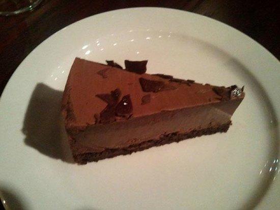 "Zem Han Mediterranean Restaurant: chocolate ""cake"""