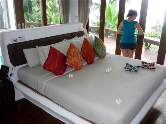Koh Tao Cabana: The beds were so comfy!
