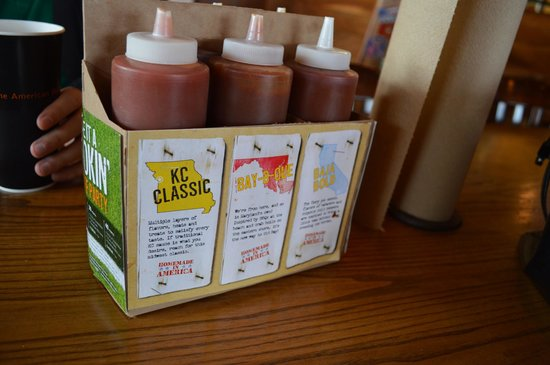 Glen Burnie, MD: A Six Pack of BBQ Sauce to Choose From