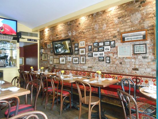 Photo of Modern European Restaurant Kafana at 116 Avenue C, New York, NY 10009, United States