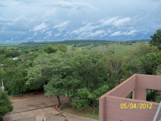 Amerian Portal del Iguazu: Que lindo amanecer con esta vista!