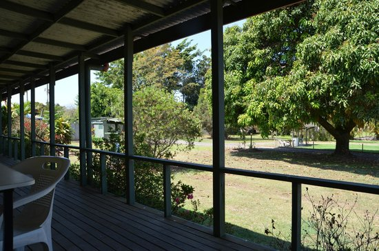 Beerwah Glasshouse Motel: our back balconies