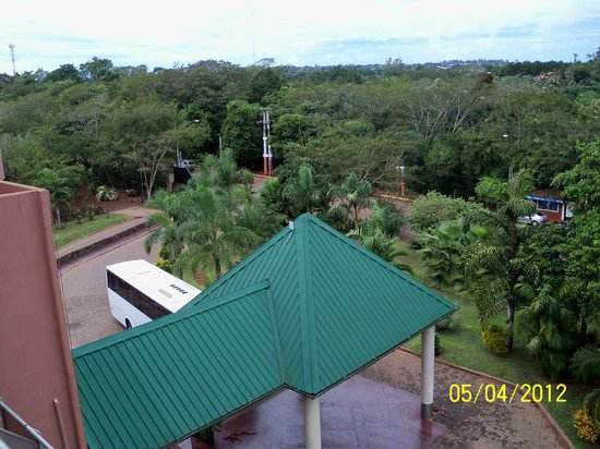 Amerian Portal del Iguazu: Amanecia y esto veia...